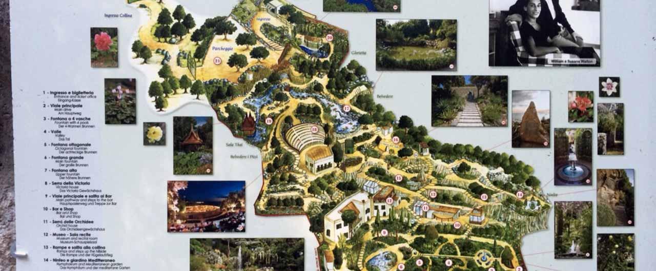 giardini la mortella a Forio d'Ischia