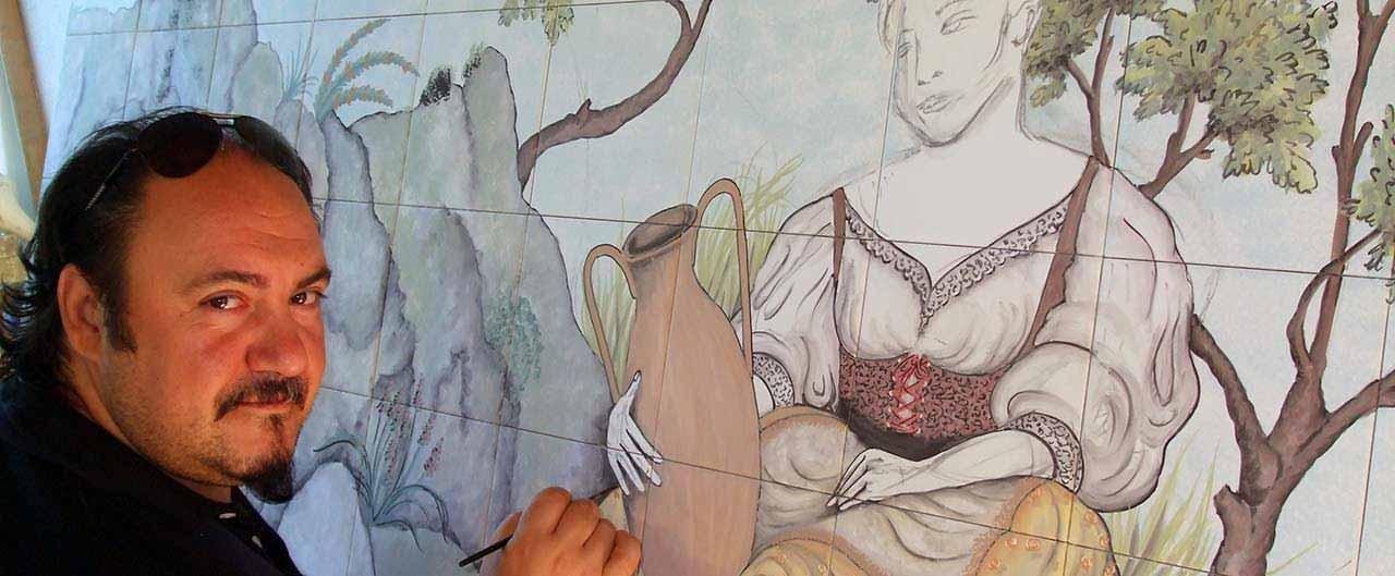 bottega d'arte Kèramos d'Ischia